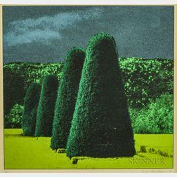 Ivor Abrahams (British, 1935-2015)      Two Works: Garden Suite IV