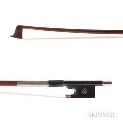Silver-mounted Violin Bow, Heinz Dölling, c. 1950