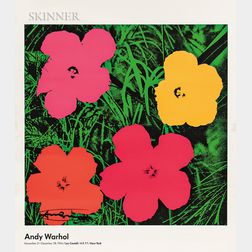 After Andy Warhol (American, 1928-1987)      Andy Warhol November 21-December 28, 1964/Leo Castelli... (Flowers)