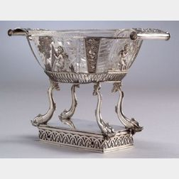 Early Musical Silver Basket