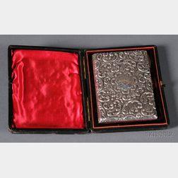 Edward VII Sterling Card Case