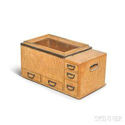 Keyaki Wood Kanto-style Hibachi