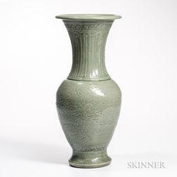 Celadon Yen-yen Vase