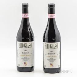 Elio Grasso Barolo Ginestra Casa Mate 2006, 2 bottles