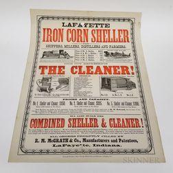 Lafayette Iron Corn Sheller Poster