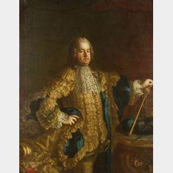 Manner of Jean Etienne Liotard (Swiss, 1702-1789)  Portrait of Francis I, Stephen de Lorraine