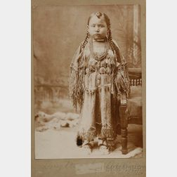 Photograph of a Cheyenne Girl