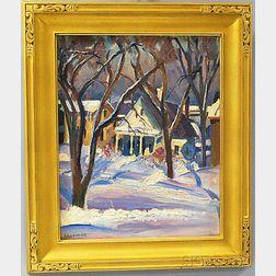Omer Thomas Lassonde (American, 1903-1980)      Little House