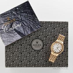 18kt Gold Rolex Cellini 6623 Wristwatch