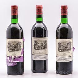 Chateau Lafite Rothschild 1979, 3 bottles