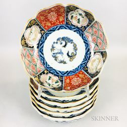 Set of Six Imari Bowls