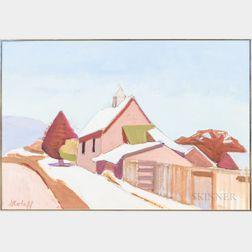Petey Stoloff (American, 20th Century)      Park City, Utah