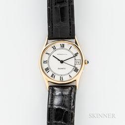 Tiffany & Co. 14kt Gold Quartz Wristwatch