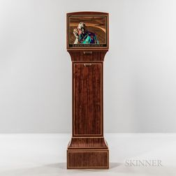 """Silas Kopf """"Is Anyone Listening?"""" Marquetry Cabinet"""