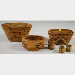 Six Basketry Items
