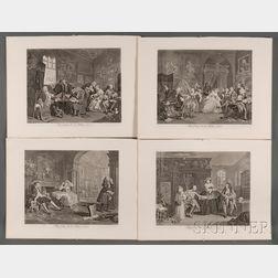 William Hogarth (British, 1697-1764)      Marriage A-la-Mode