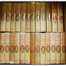Twenty-three V. Appleton Tom Swift   Series Books