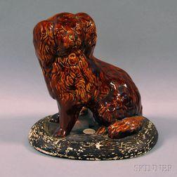 Rockingham-glazed Spaniel