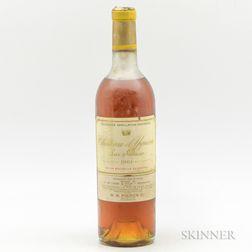 Chateau dYquem 1961, 1 bottle