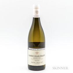 Henri Boillot Corton Charlemagne 2005, 1 bottle