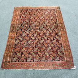 Antique Khorassan Doroksh Rug