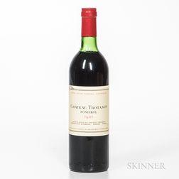 Chateau Trotanoy 1982, 1 bottle