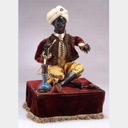 Leopold Lambert Automaton of a Narghile Smoker
