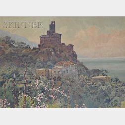 Hezekiah Anthony Dyer (American, 1872-1943)      View of Sorrento