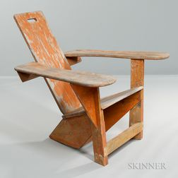 Westport Plank Chair by Harry Bunnell