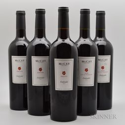 McCay Cellars, 5 bottles