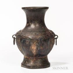 Archaic-style Bronze Vase