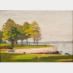 Edmond James Fitzgerald (American, 1912-1989)      Seaside Park