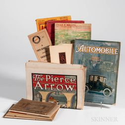 Automotive Ephemera Lot, Early 20th Century, Fourteen Publications.