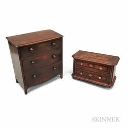 Two Pieces of Miniature Furniture