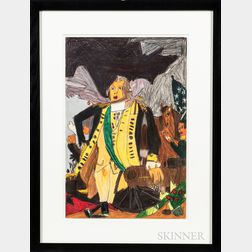 Helen Rae (American, b. 1938)      George Washington