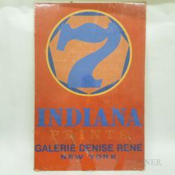 Robert Indiana Exhibition Gallery Poster