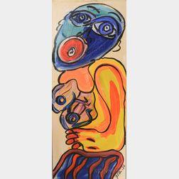 Peter Robert Keil (German, b. 1942)      A Yunky Girl From Miami