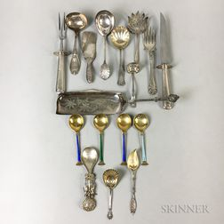 Group of Silver Serving Pieces