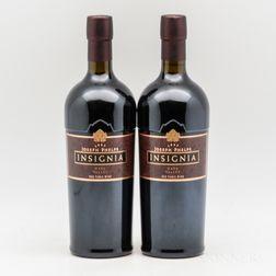 Joseph Phelps Insignia 1997, 2 bottles