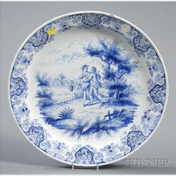 Delft Delft Blue and White Charger