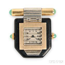 Art Deco Clip Watch, Van Cleef & Arpels