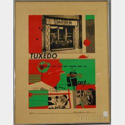 Richard Merkin (American, 1938-2009)      Art and Perfume #9: Tuxedo