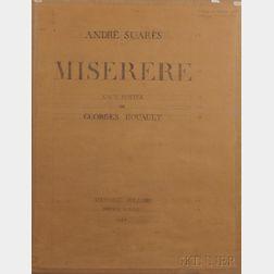 Rouault, Georges (1878-1958) Miserere.