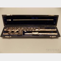 American Silver Flute in C, Verne Q. Powell, Boston, 1971