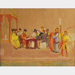 H. Winthrop Peirce (American, 1850-1935)      Signing of the Treaty
