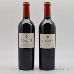 J Davies Cabernet Sauvignon, 2 bottles
