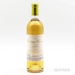 Chateau Climens 2001, 1 bottle