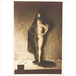 Louis Icart (French, 1888-1950)  Conchita