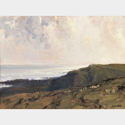 James Humbart Craig (Irish, 1877-1944)      The Moyle, Co. Antrim