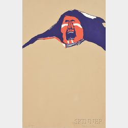 Fritz Scholder (Native American, 1937-2005)      Red Indian